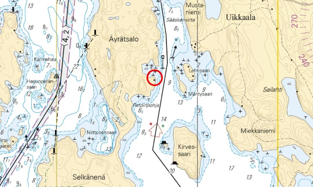 Äyrätsalo_kartta